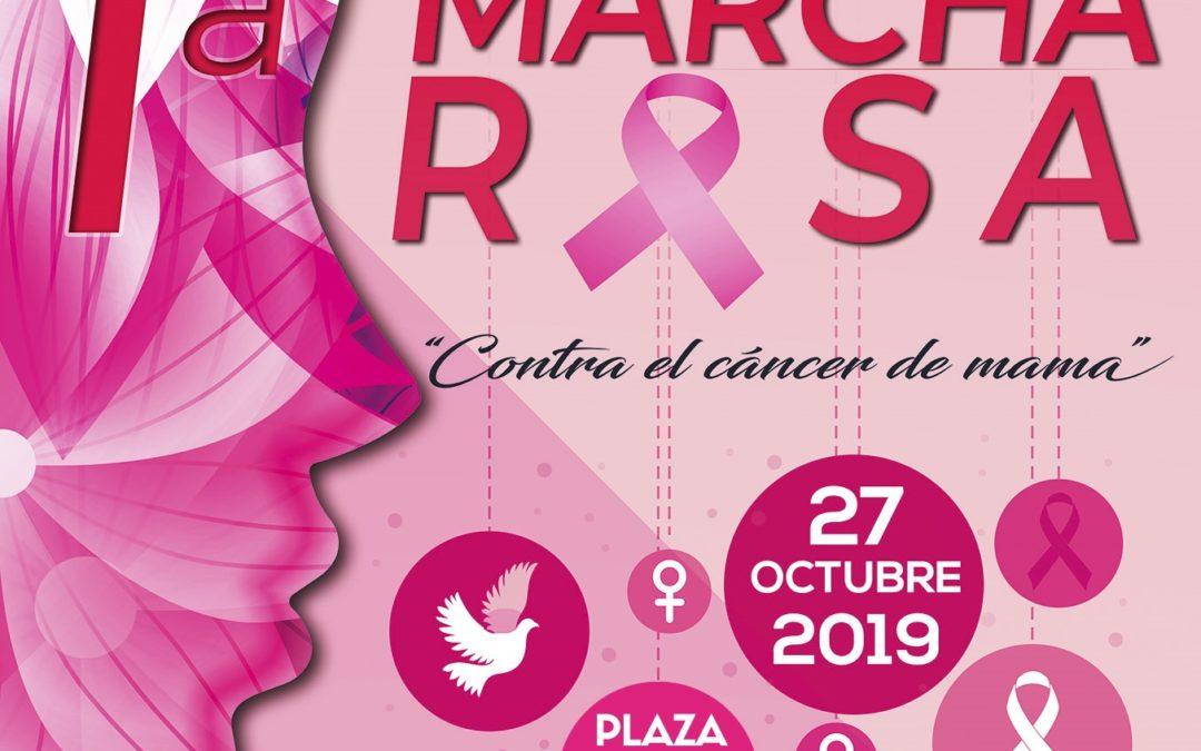 Imprenta La Verata colaboradores de la I Marcha Rosa – Contra el Cáncer de Mama de Tejeda de Tiétar