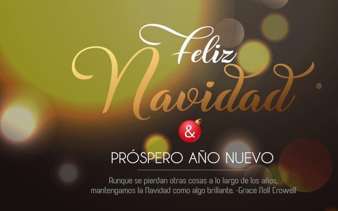 Felices Fiestas, Feliz Navidad 2019